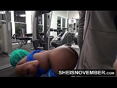 Msnovember Fucked By Stranger In Public Gym Rou...
