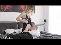 TransSensual Casey Kisses Barebacked Submissive Employee
