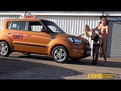 Fake Driving School Amber Jayne fucked by her husband