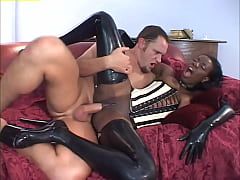 Anal Divas In Latex #4 - Kinky black chick who ...