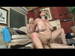Clip sex Samantha 38G and Angelina Castro Double Team Stud