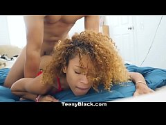 TeenyBlack - Teeny Black Teen Gives Up Pussy