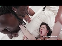 Waka Wake, Blacks are Coming! Angie Moon gets 5 BBC with Balls Deep Anal / Manhandle / DAP / Gapes / Butt Rose