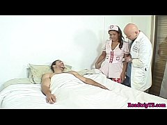 Shemale nurse assfucked by...