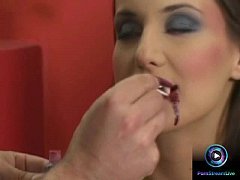 Halloween makeover turns into a blowjob action care of Andy Brown