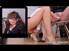 Hard Working Lesbian Couple Pissing and Squirting in the Office \/\/ ONLINE NOW at KATE.HOT4CAMS.COM