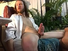 Hard dick stroking and pumping
