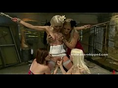 Bride fucked by lesbian