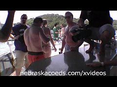 Super Hot Teens on a Boat Experimenting Part 1