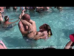 Clip sex swinger nudist pool party key west florida for fantasy fest dantes