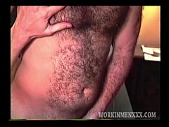 Hairy and Hung Amateurs Byron and Ivan Fuck