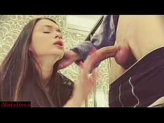 FULL! Throated And Facialed By My Step Brother Instead Of College - Natalissa