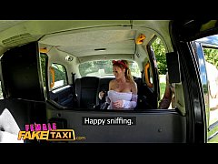 Female Fake taxi Blonde drivers big tits get co...