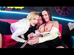 VIP SEX VAULT - Sexy Czech MILF Mea Melone Indulge In Hot Threeway Sex With Sicilia Model And Her Hubby