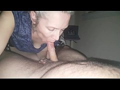 cum in the mouth of a beautiful 43-year-old mummy