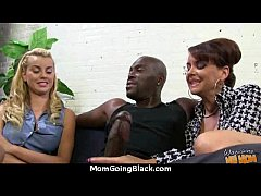 Clip sex a great hardcore interracial sex with hot Milf 19