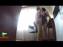 He paints her lips eats her pussy and records it with a spy cam ADR0535