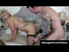 Blonde Beauty Angel Allwood Is Pussy Pounded By Alex Legend!