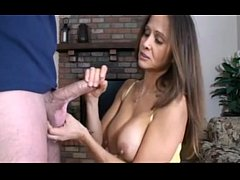 HotWifeRio Caught step-son jacking off