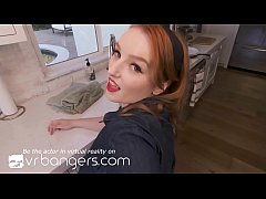 VR BANGERS Redhead pinup housewife cheating on ...