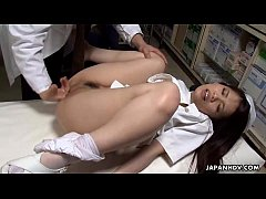 Doctor heals the patient and the slutty nurse