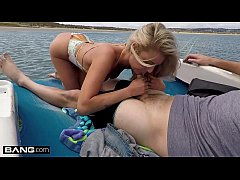 Victoria Steffanie is a good time girl that bangs a dude on a boat