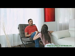Petite Young Teen Step Daughter With A Great As...