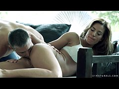Gently anal sex with Athina