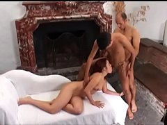 Cute babe Claudia with a beautiful body gives h...