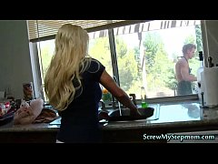 Tempting Blonde Super Stepmom...
