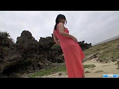 POV outdoor sex spectacle with Megumi Haruka