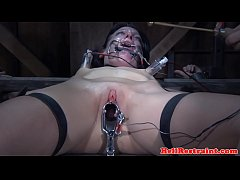 BDSM couple dominating sub...