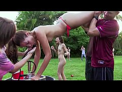 COLLEGE RULES - Horny Young Students Enjoy A Field Day With Raunchy Sex