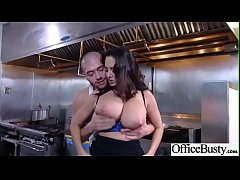 Office Sex Action With Sluty Horny Big Tits Girl (Ava Addams) clip-05