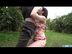 Clip sex Dashing Asian woman, Minami Asano, full porn in outdoor  - More at javhd.net