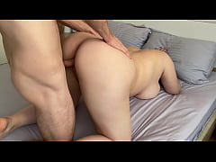 Clip sex White girl with big ass loves hard fuck