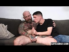 Hairy Step Daddy Fucks His Twink Stepson - Dyla...