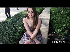 Cash for legal age teenager cali hayes in excha...