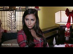 Gianna Dior accidentally fucks her step-dad who's disguised as Santa!