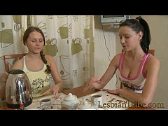 sweet russian teens fucking small assholes with big dildo