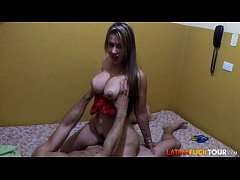 Amateur Latina has Better Tits than the PRO POR...