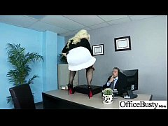 Hardcore Sex In Office With Big Round Boobs Horny Girl (britney amber) vid-06