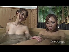Naked girls bath pool voyeured