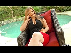 Allison Moore is a voluptuous slut that lets he...