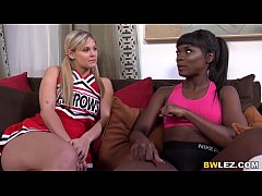 Lesbian Ana Foxxx And Scarlet Red - Zebra Girls