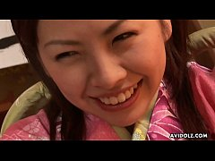 Cute Asian teen wanked...