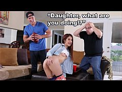 BANGBROS - Innocent Teen 18yo Sally Squirt Gets...