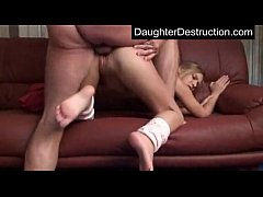Young girl fucked by huge cock