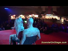 scandal on public stage