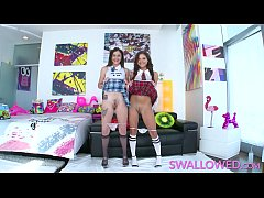 thumb swallowed slopp  y double blowjob with rosalyn ob with rosalyn b with rosalyn a